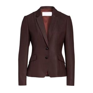 NWOT Hugo Boss Jenesa Jacket Burgundy